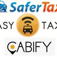 PIDE UN TAXI DESDE TU CELULAR: SAFER TAXI - EASY TAXI - CABIFY